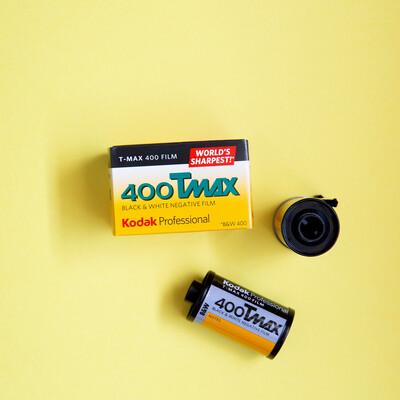 Kodak TMAX 400 35mm 36 Exposures