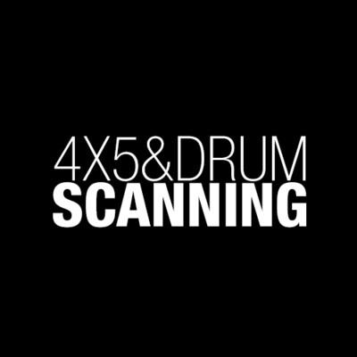 4X5 & Drum Scanning