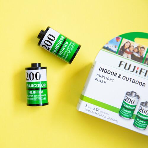 Fujicolor Superia 200 35mm 36 Exposures