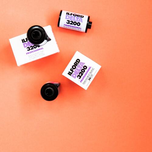 Ilford Delta 3200 35mm 36 Exposures