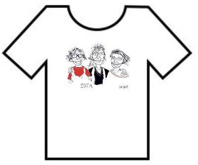 T-Shirt: IOTA Cartoon