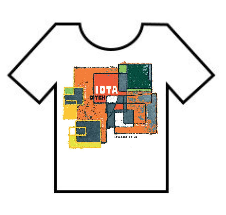 T-Shirt: IOTA Etch-A-Sketch
