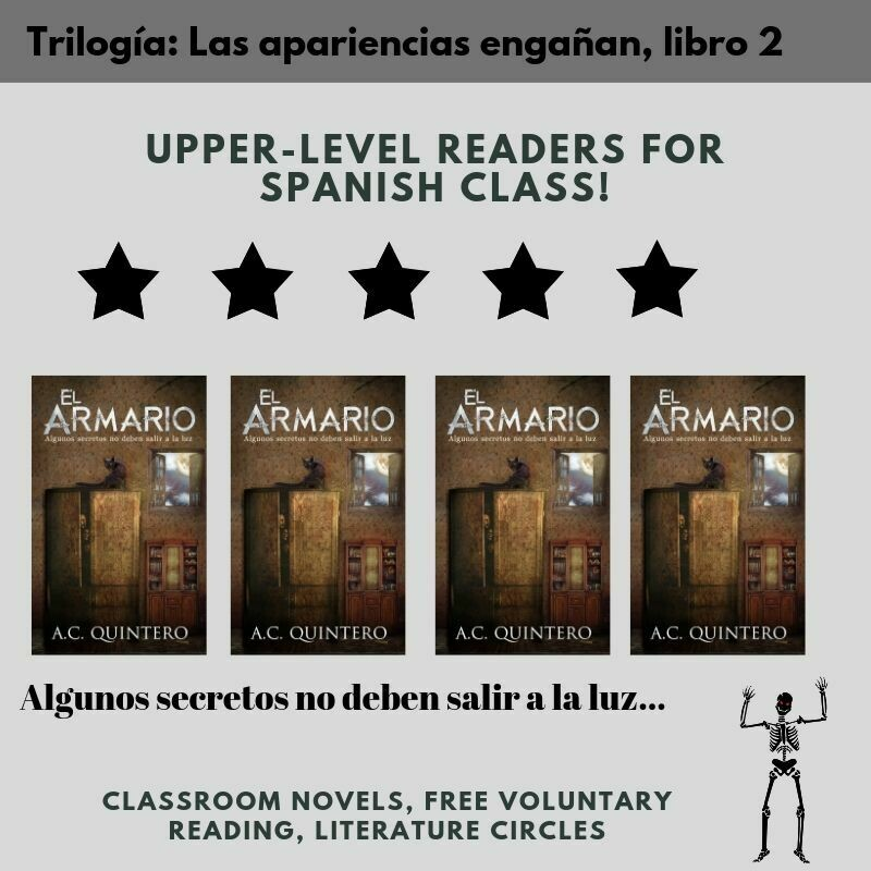 4 Novels El Armario (Skeletons in the Closet) Level 3+