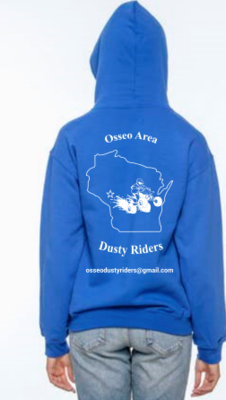 Sweatshirt  - Osseo Area Dusty Riders - Price depends on selections