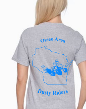Kids T-Shirt - Osseo Area Dusty Riders - Price depends on selections