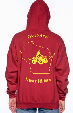 Kids Sweatshirt (No Hood)  - Osseo Area Dusty Riders - Price depends on selections