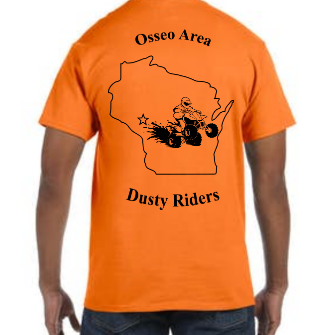 Short Sleeve T-Shirt - Osseo Area Dusty Riders - Price depends on selections