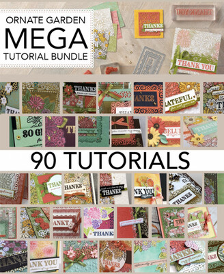 MEGA Tutorial Bundle: Ornate Garden Suite