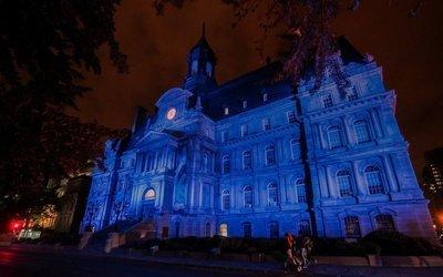 Vieux-Montréal le soir