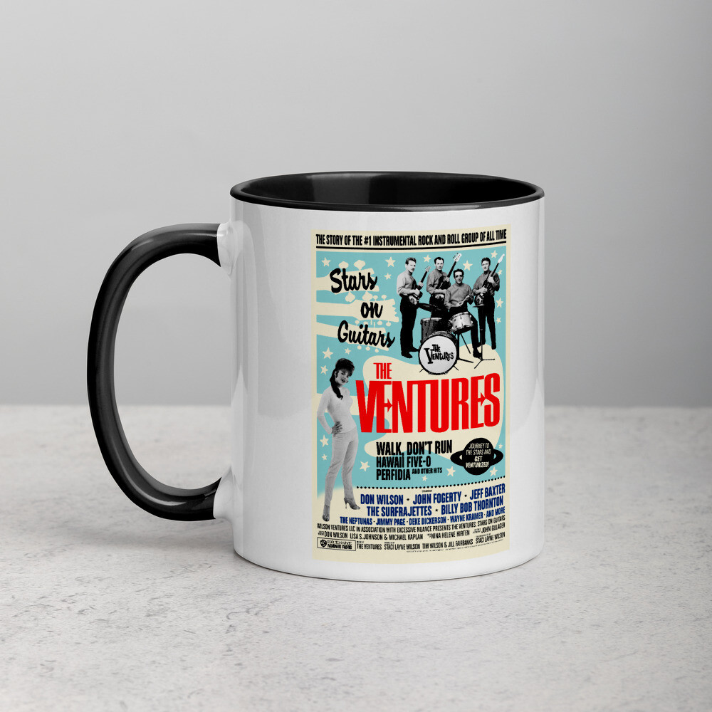 Stars on Guitars - Mug with Color Inside