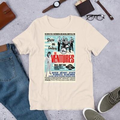Stars on Guitars - Short-Sleeve Unisex T-Shirt