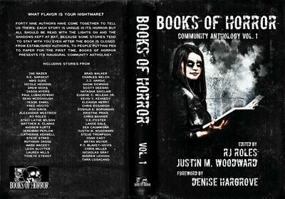 Books of Horror - Paperback
