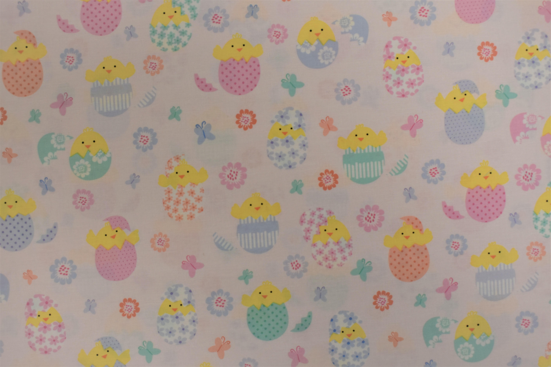 Spring Chicks - Kanvas Studio - 1/2m cut 55073