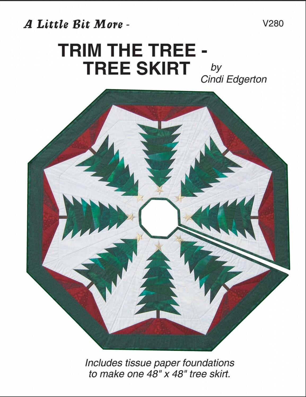 Trim the Tree - Tree Skirt Pattern KUV5JE85