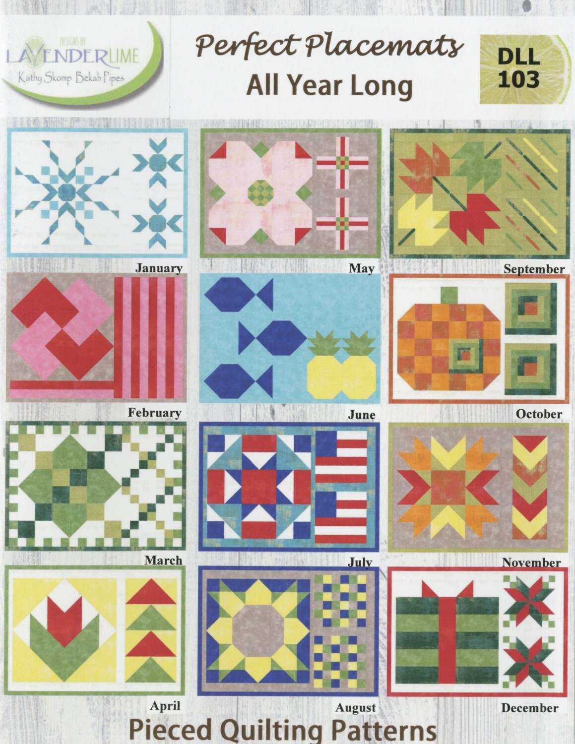 Perfect Placemats All Year Long Book 7AVQHS2H