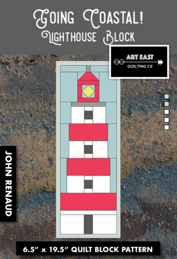 Going Coastal - Lighthouse Block Pattern AASW13MD