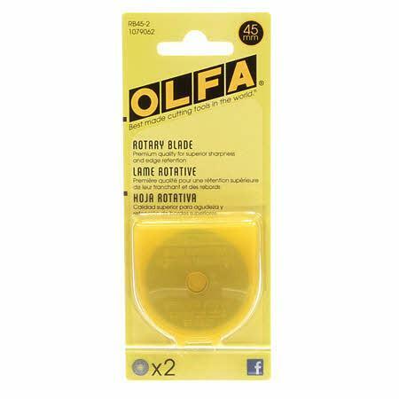 Olfa Replacement Blade - 2 Pack- 45mm DD2ATZFK