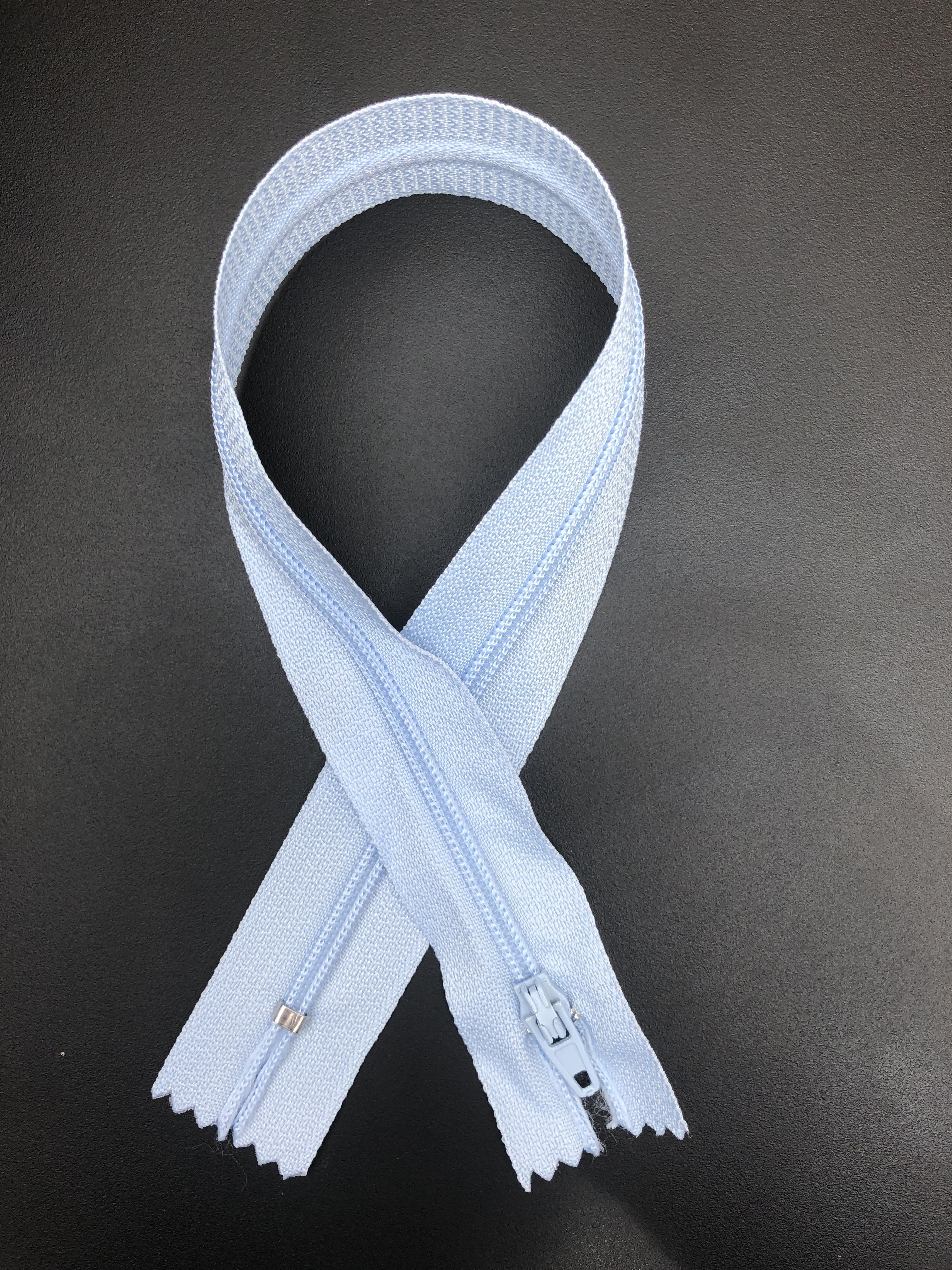 """14"""" Zipper - Baby Blue 55290"""