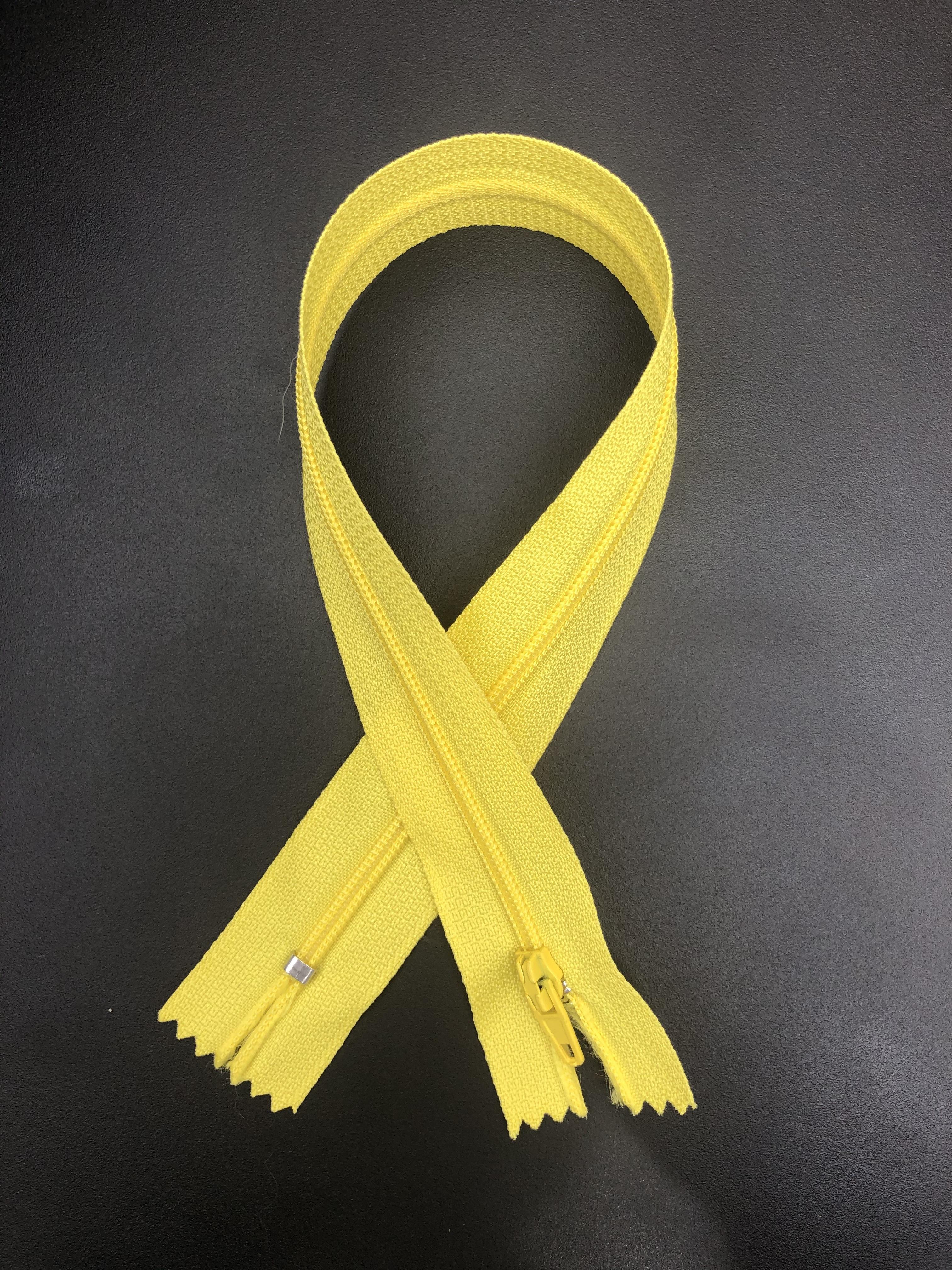 "14"" Zipper - Lemon Yellow 55292"
