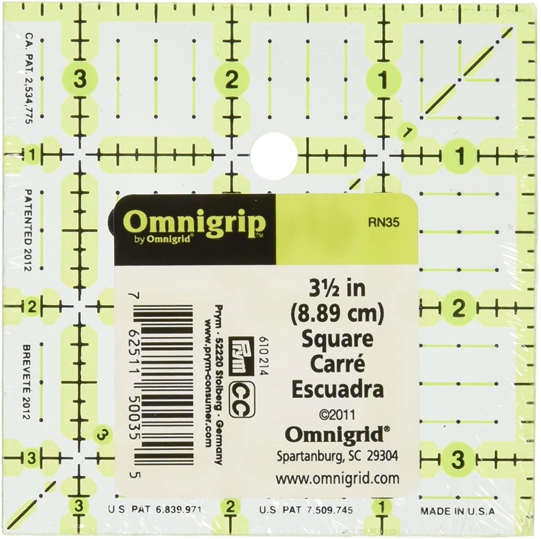 "3.5""  square ruler 55598"