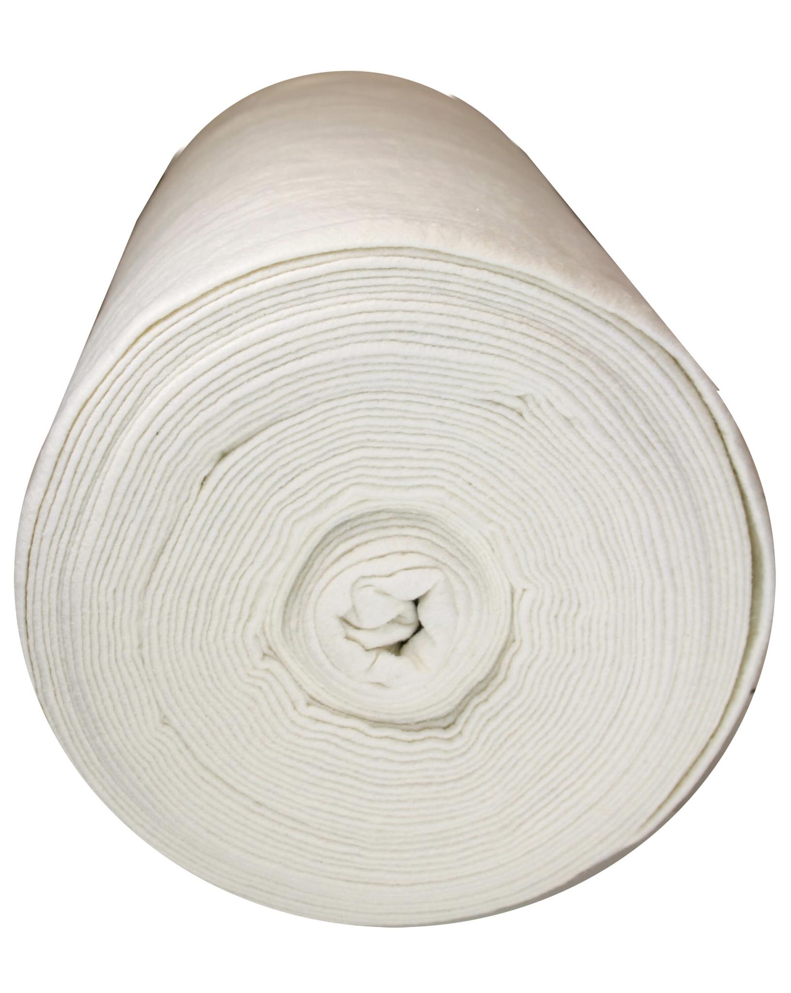 """100% Cotton Batting - 96"""" wide - 1/2m cut"""