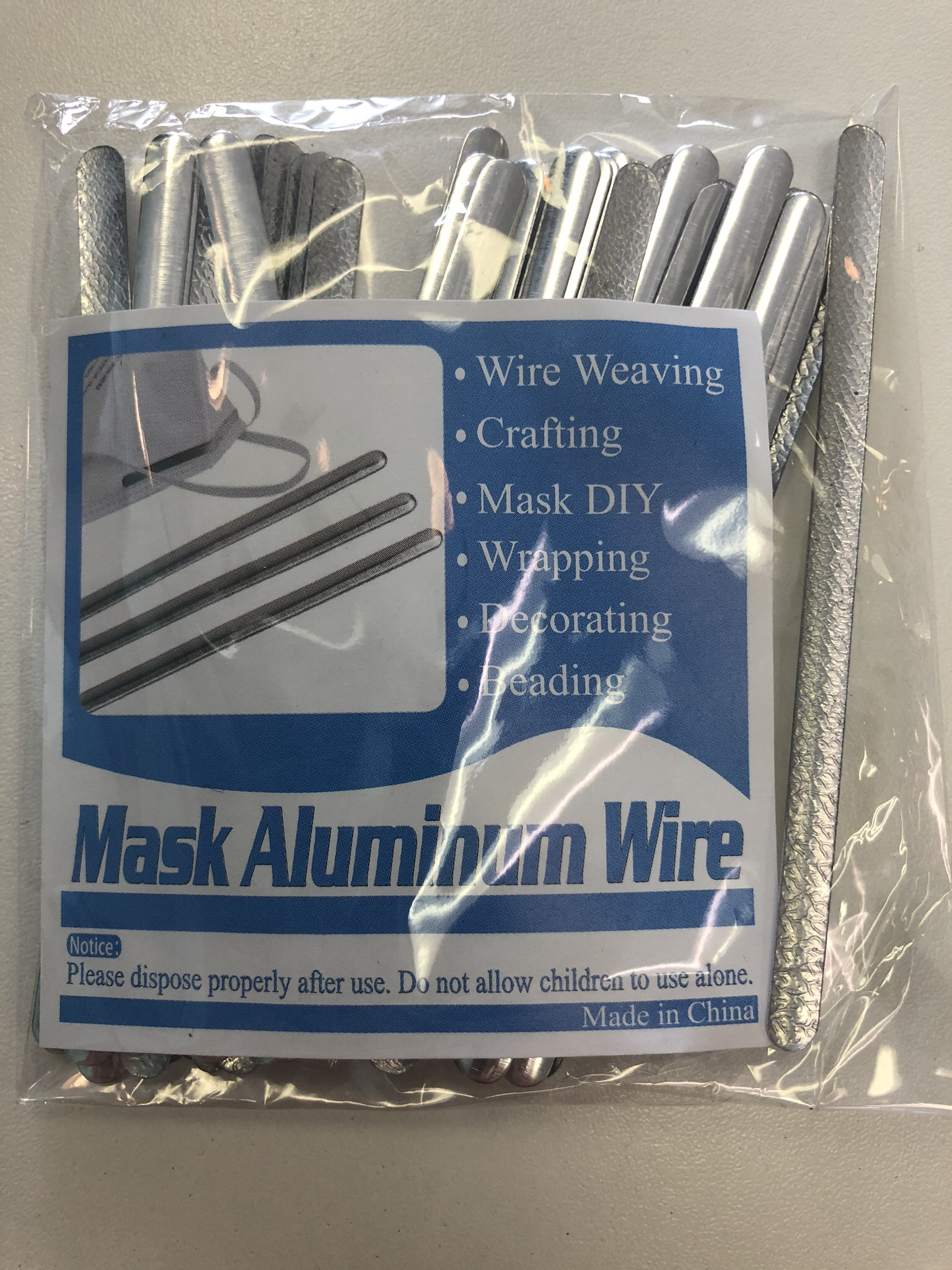 Flexible Mask Wires - 10 Pack 55901