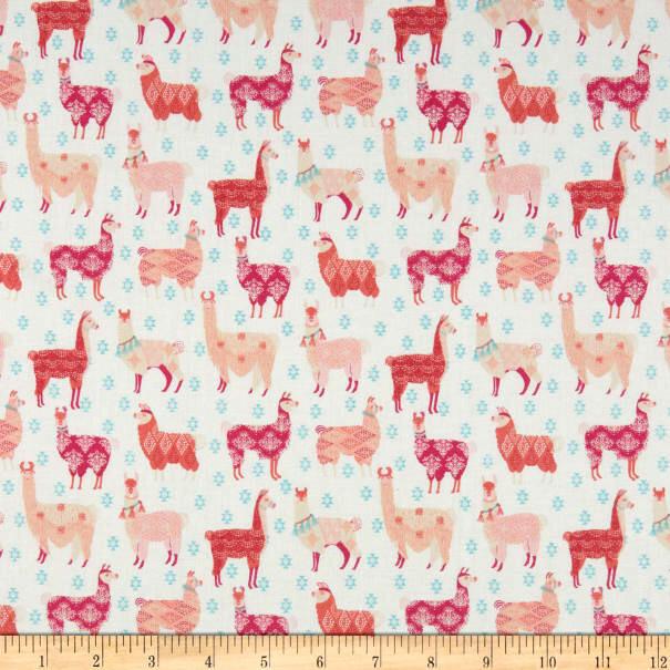 Llama Print - 1/2m cut 55907