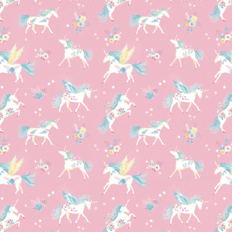 Unicorn Print - 1/2m cut 55908
