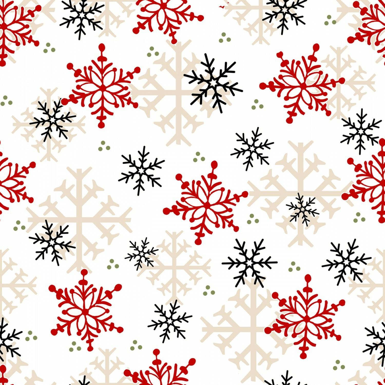 Timber Gnomies - Snowflakes - 1/2m cut 55913