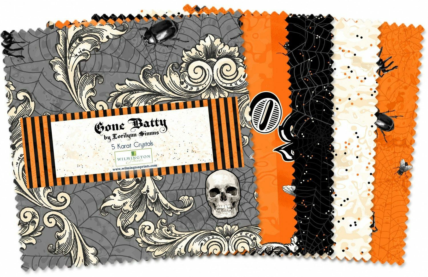 Gone Batty Charm Pack 55960