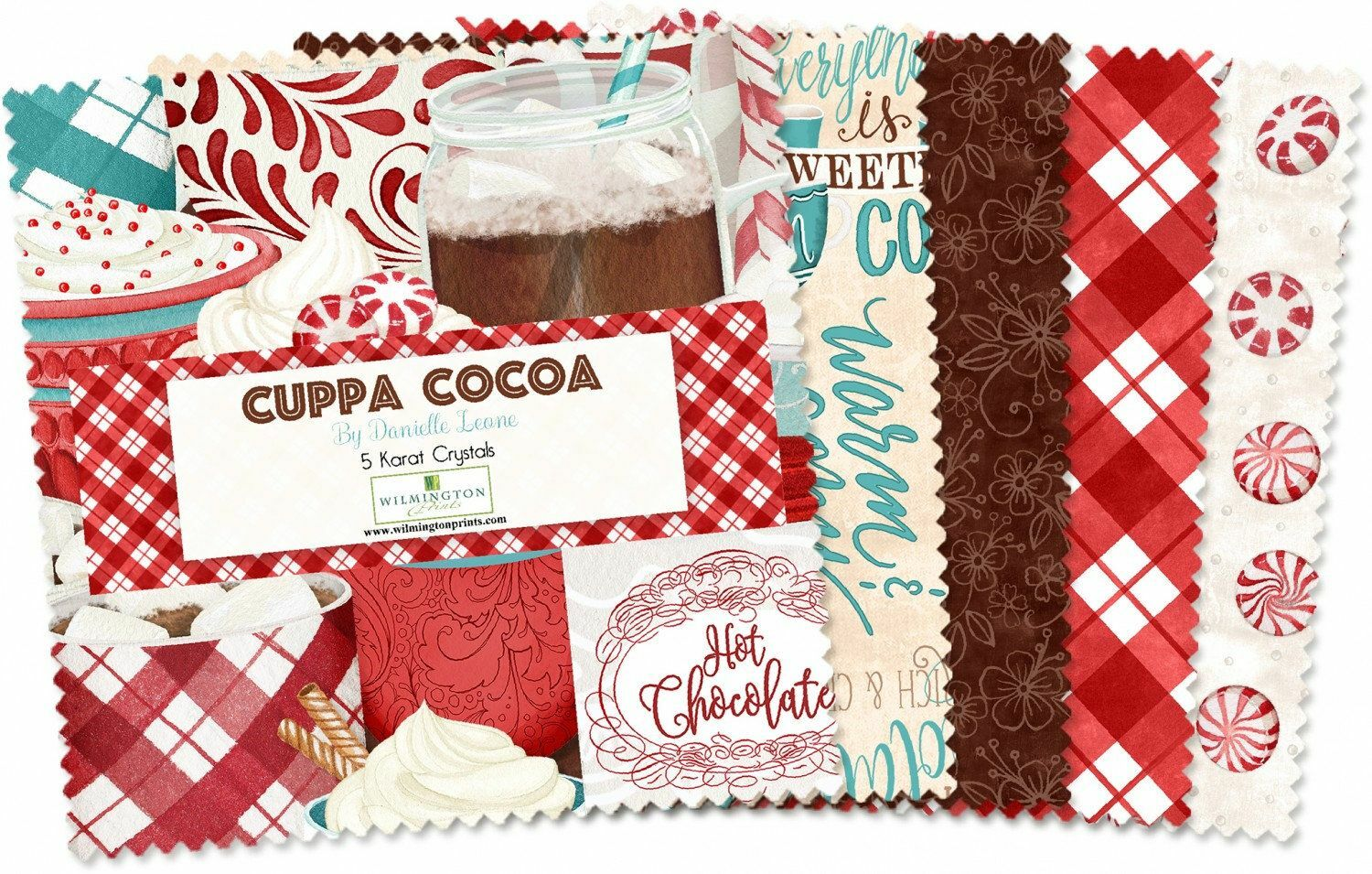 Cuppa Cocoa Charm Pack 55959