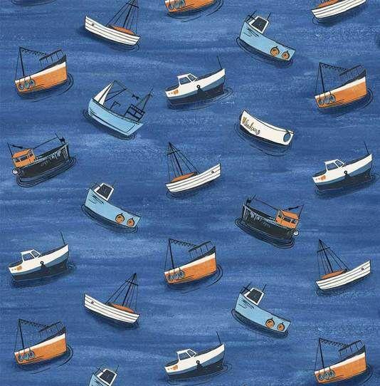 Small Boats - Sailor's Rest - 1/2m cut 55995