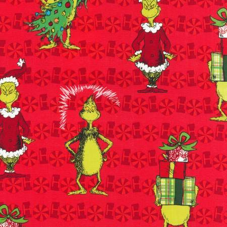 The Grinch - Red Print 56003