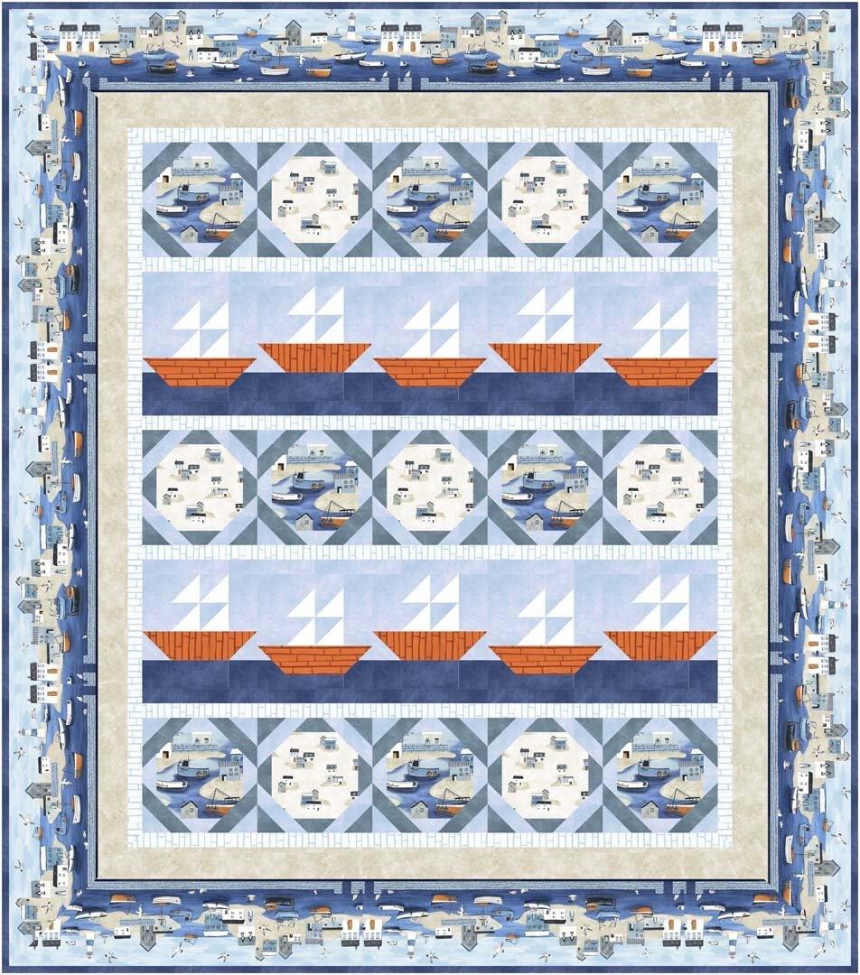 Sailors Rest Quilt Kit 56023