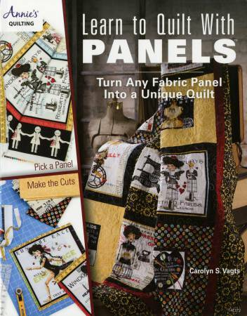 Learn to Quilt with Panels Book 56034