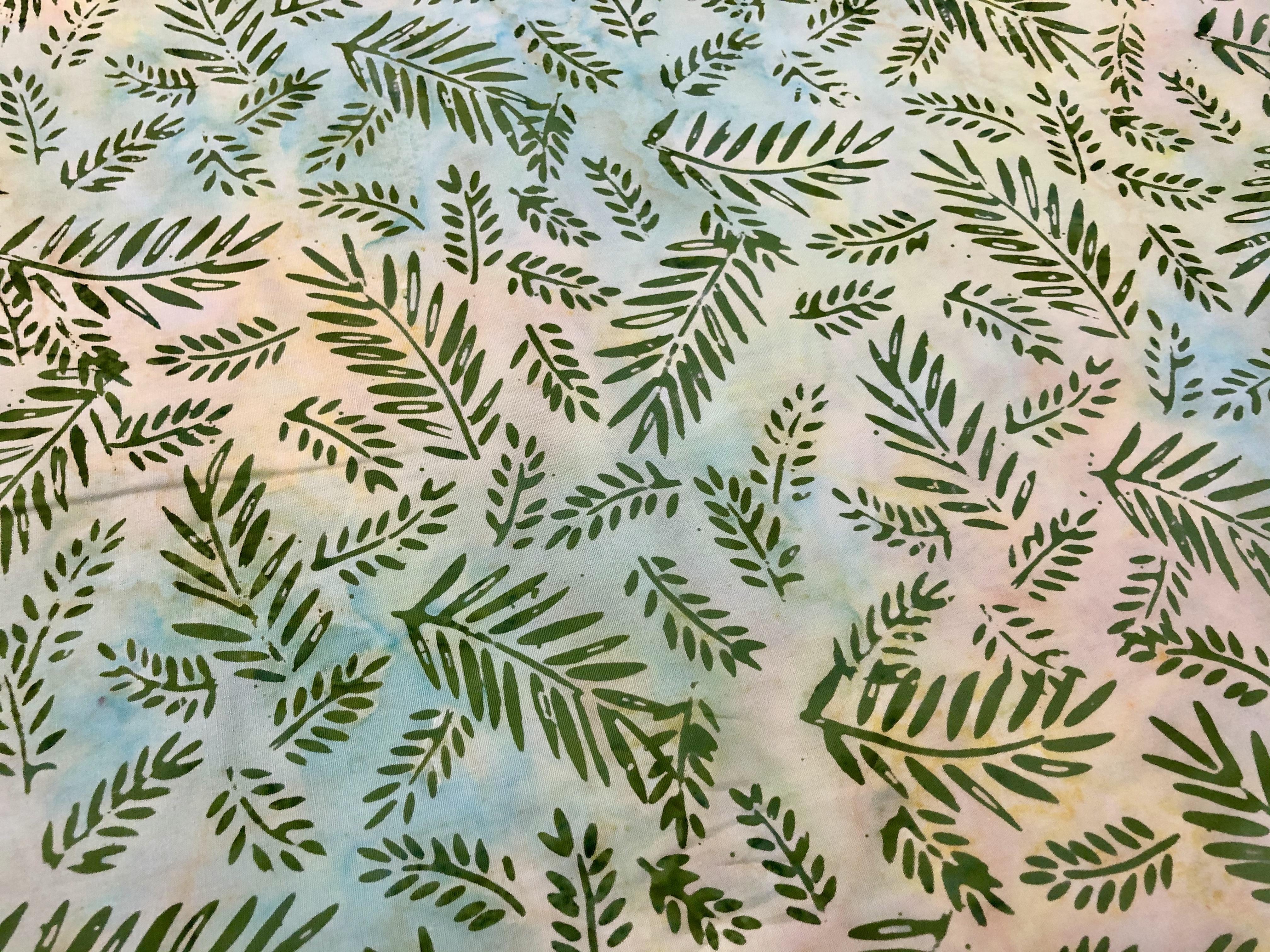Ferns - Mohave - Batik - 1/2m cut 56076
