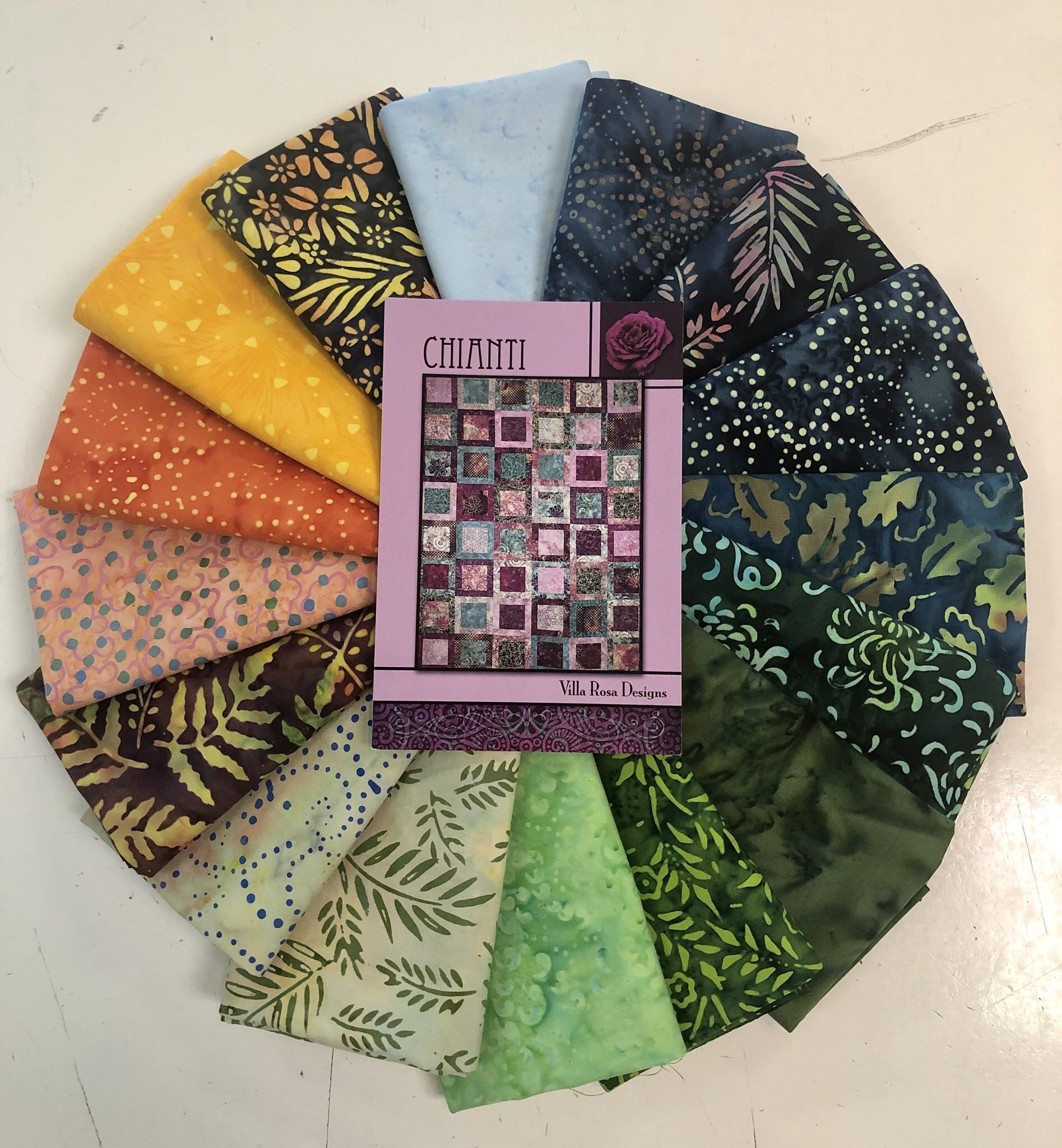 Chianti Quilt Kit - Tropical Summer 56090