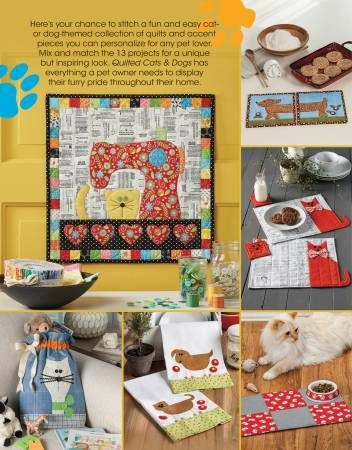 Quilted Cats & Dogs Book