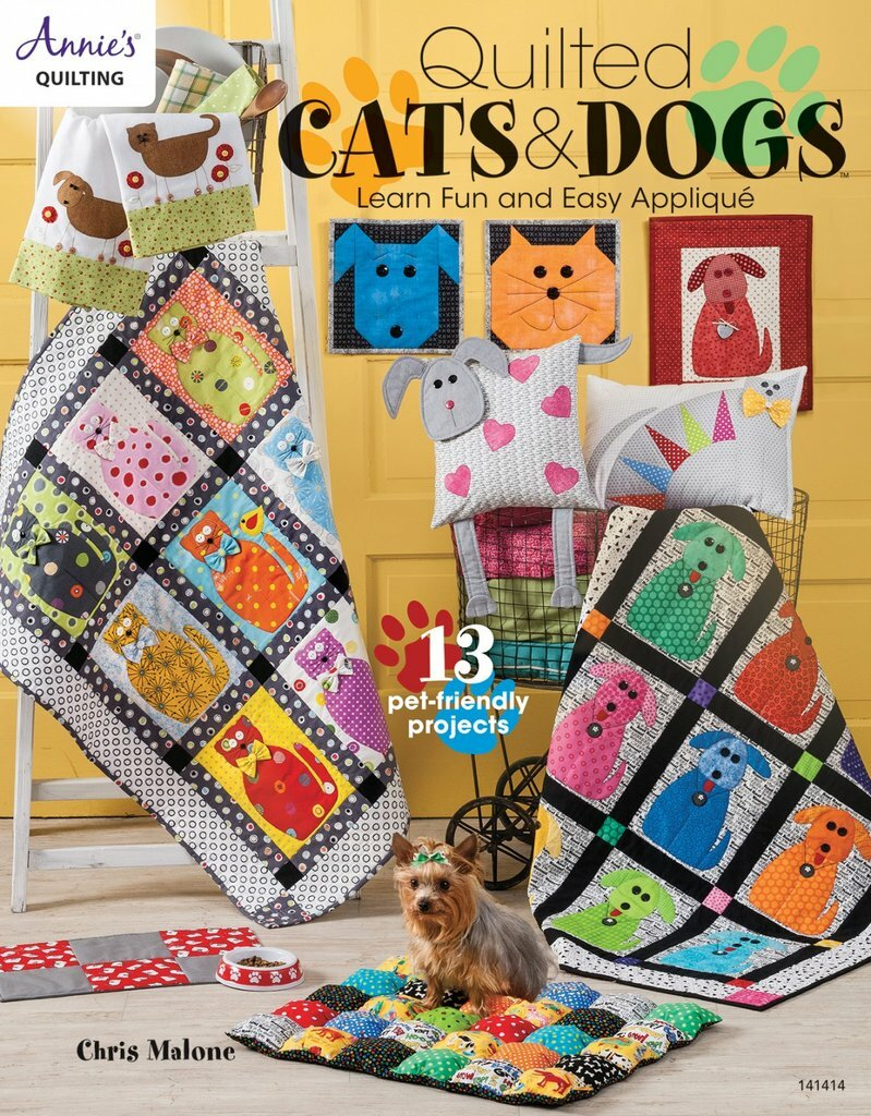 Quilted Cats & Dogs Book 56093