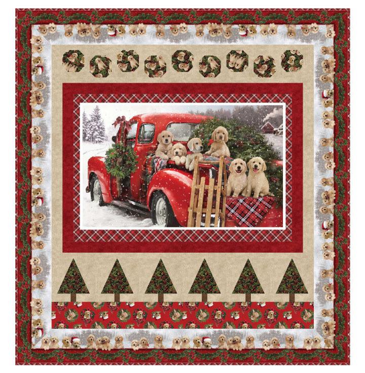 Santa's Helpers Quilt Pattern 56113