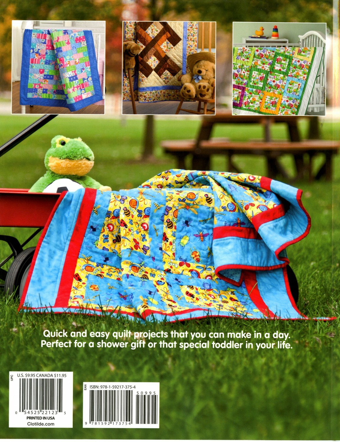 Quick & Easy Quilts for Kids Book