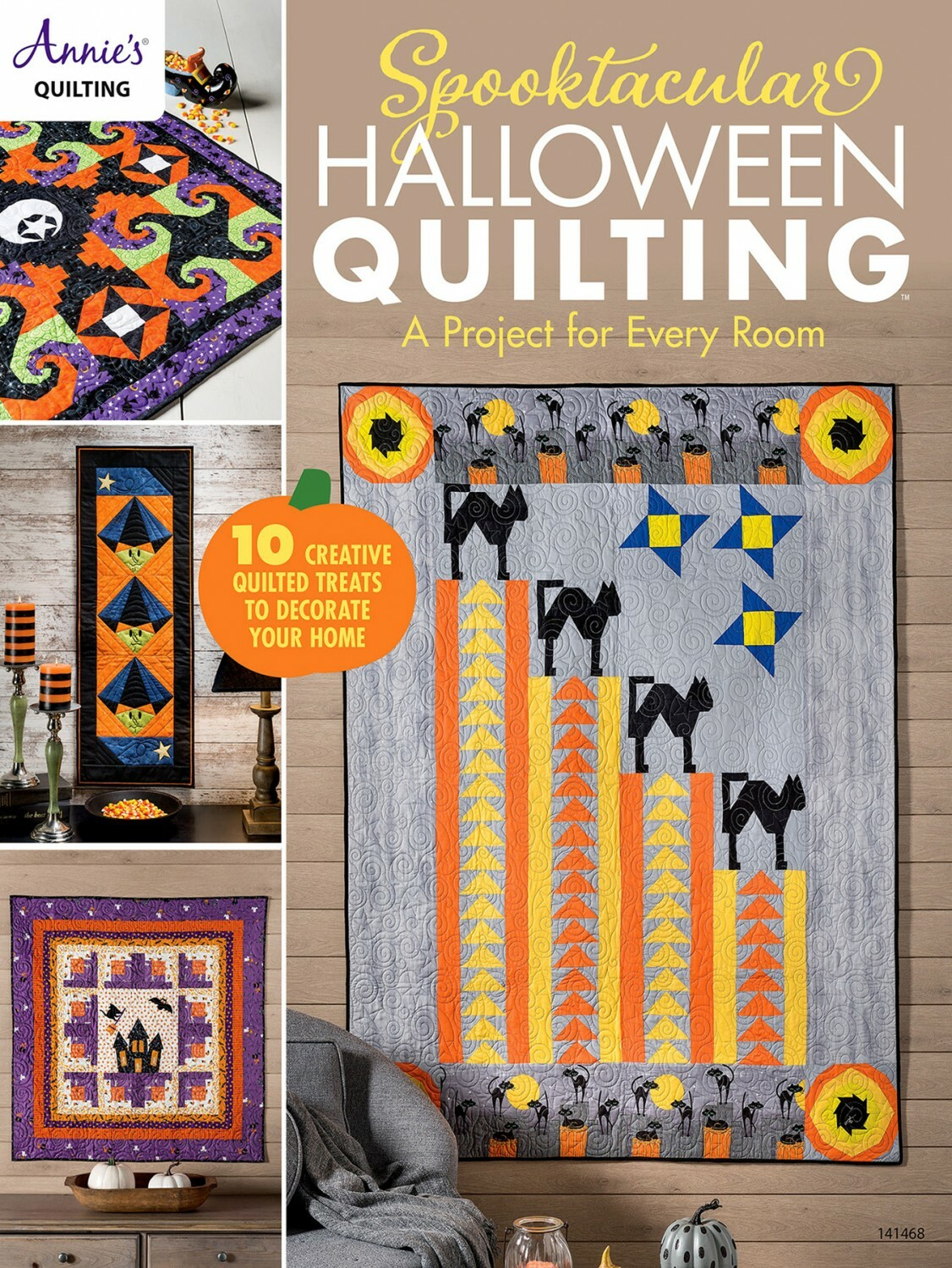 Halloween Quilting Book 56153