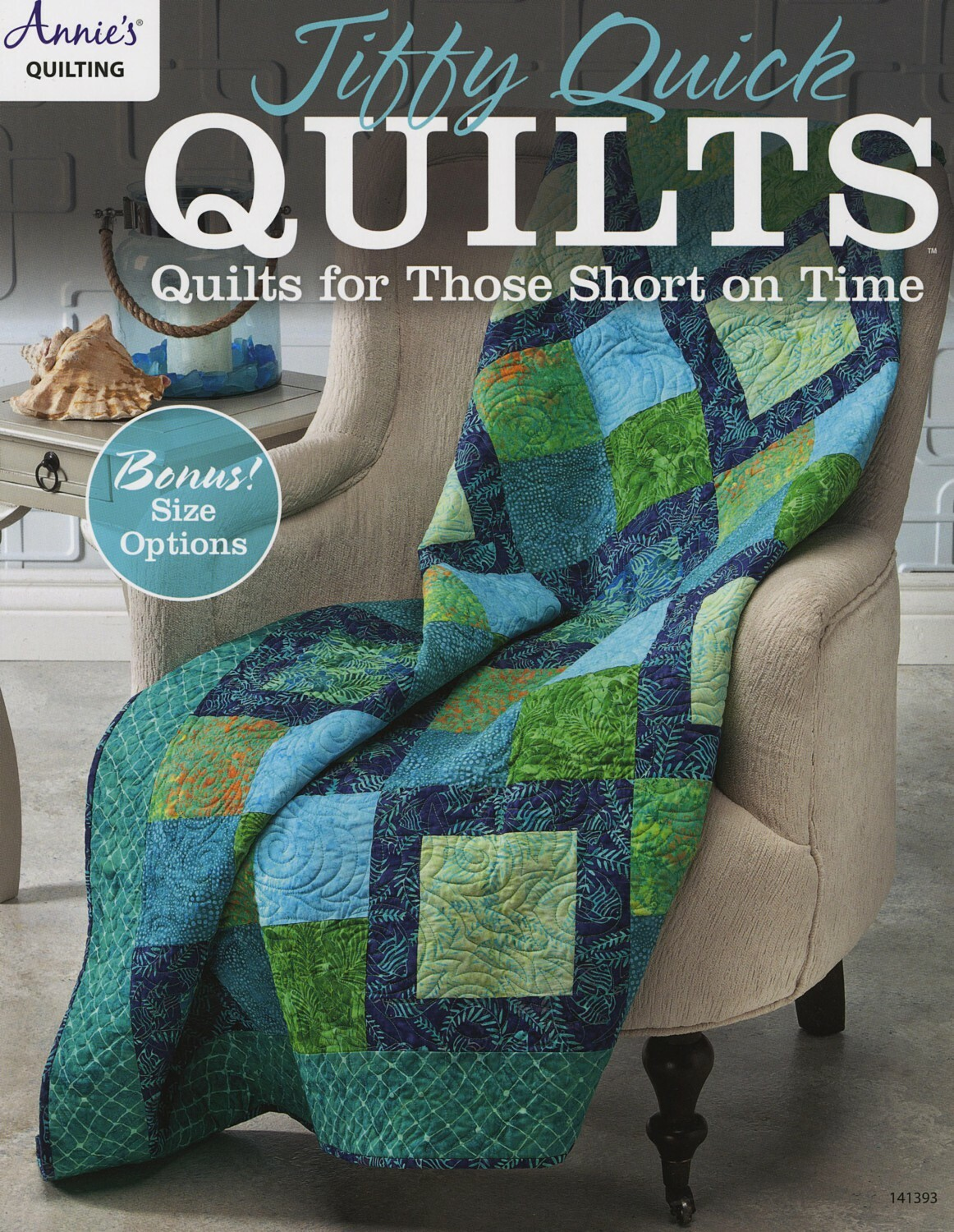 Jiffy Quick Quilts Book 56157