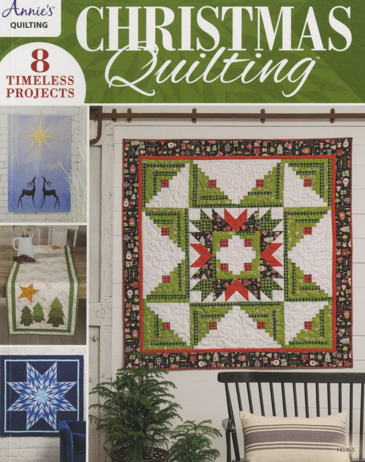 Christmas Quilting Book 56154