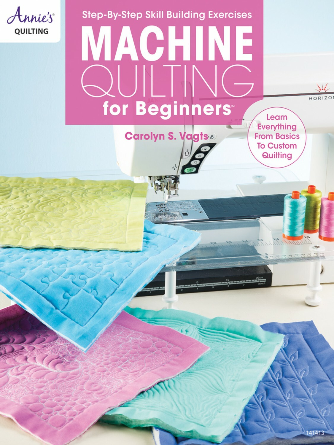 Machine Quilting for Beginners Book 56159
