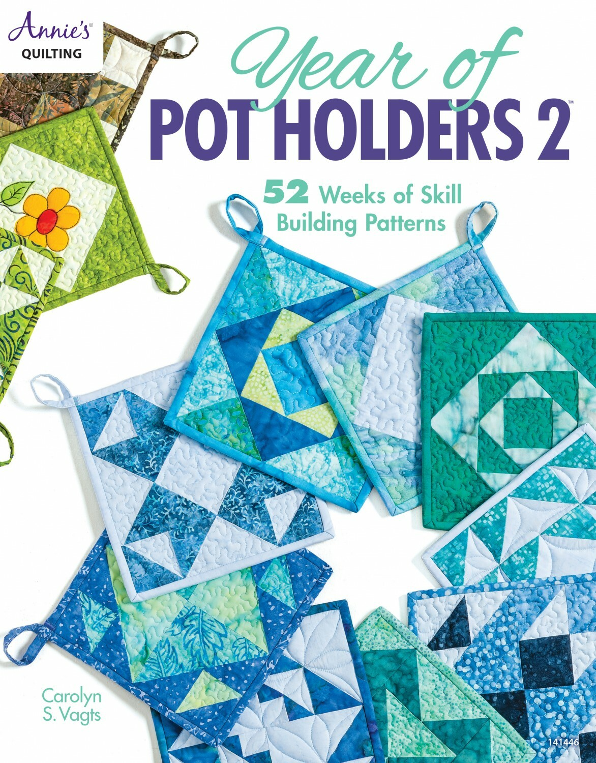 Year of Pot Holders 2 Book 56161