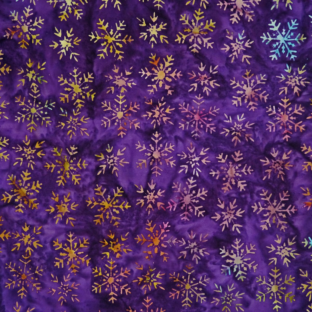 Nighttime Purple - Flicker Flair - Batik - 1/2m cut 56224