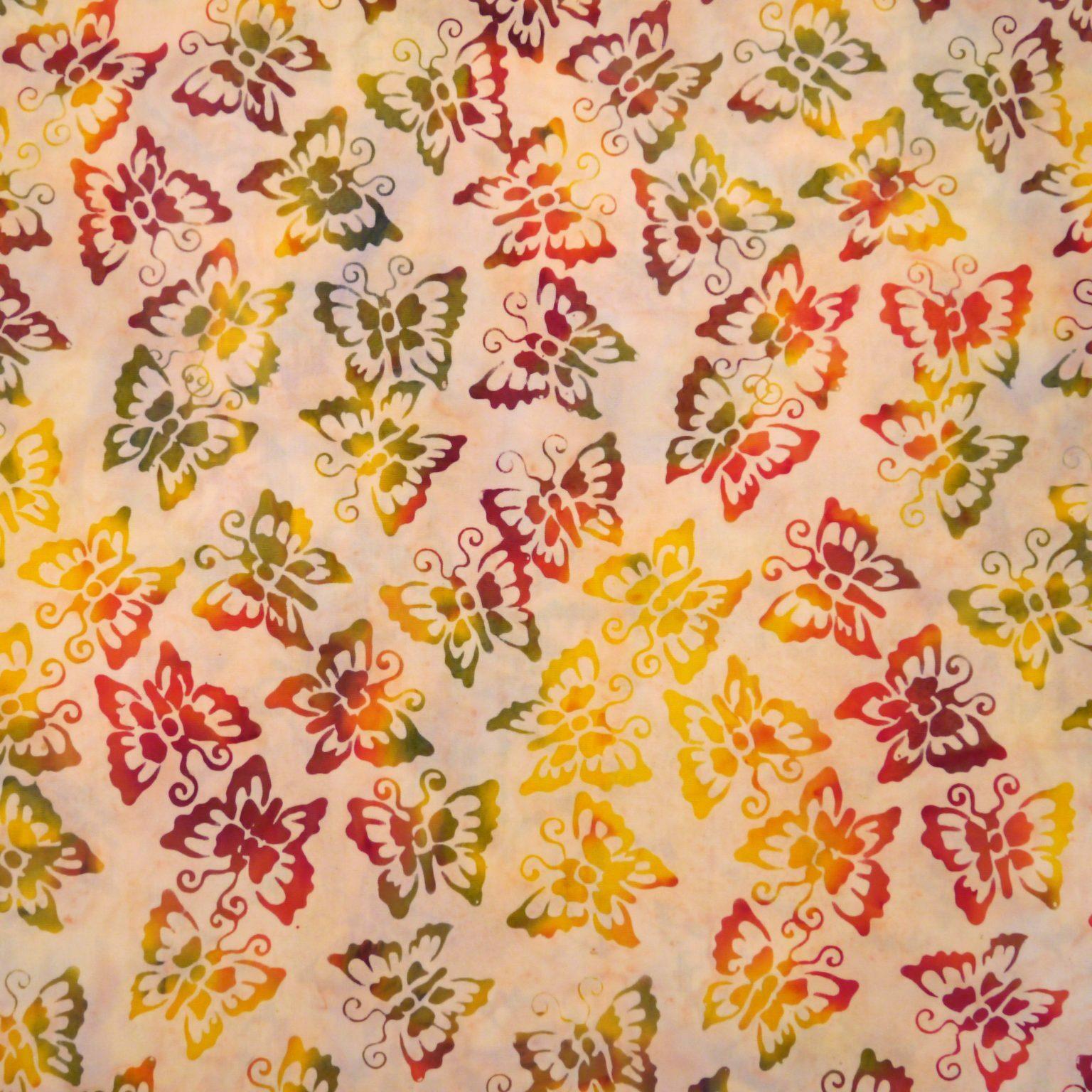 Jewelweed - Maple Maze - Batik - 1/2m cut 56215