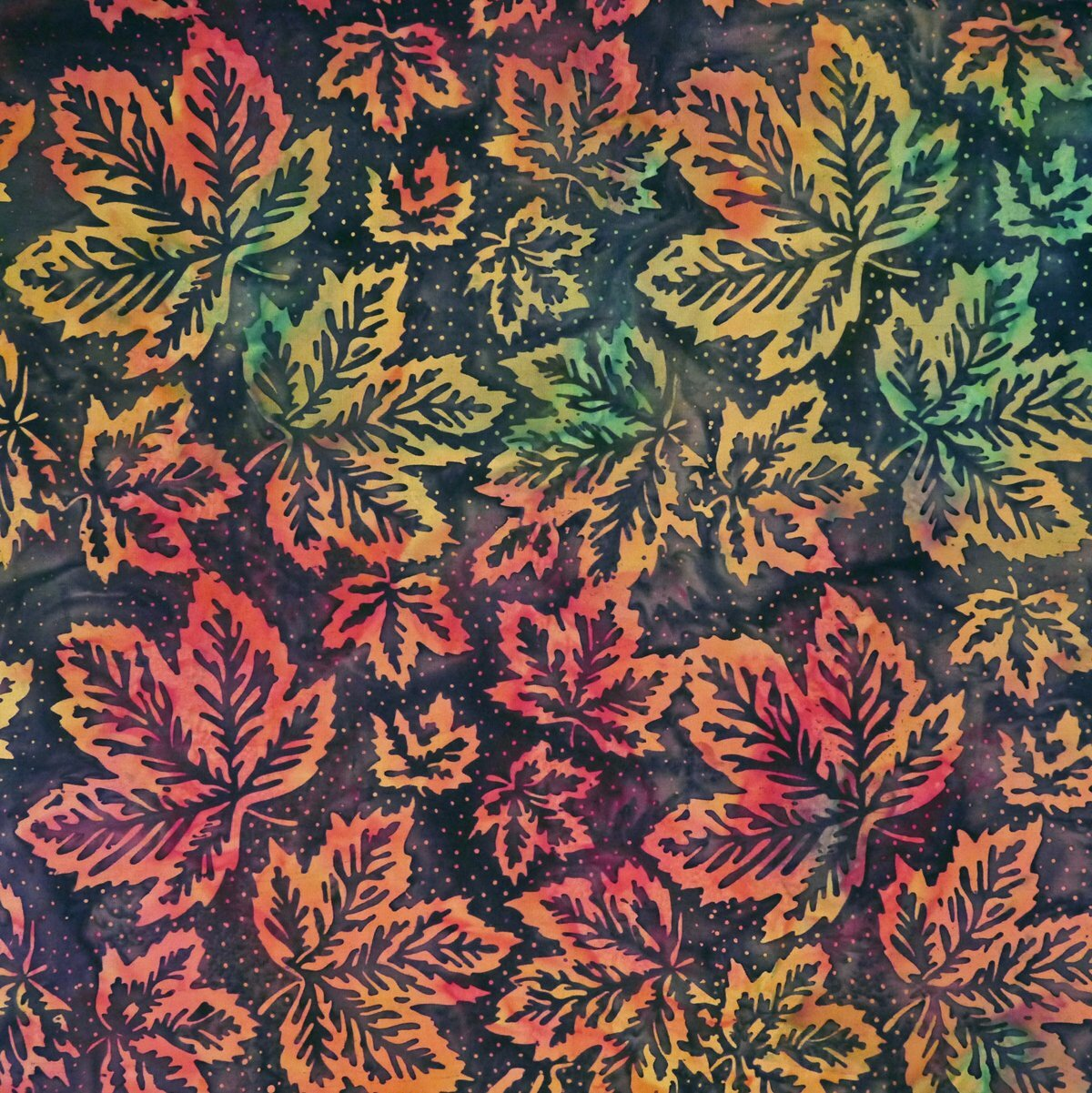 Madder Multi - Salsa - Batik - 1/2m cut 56241