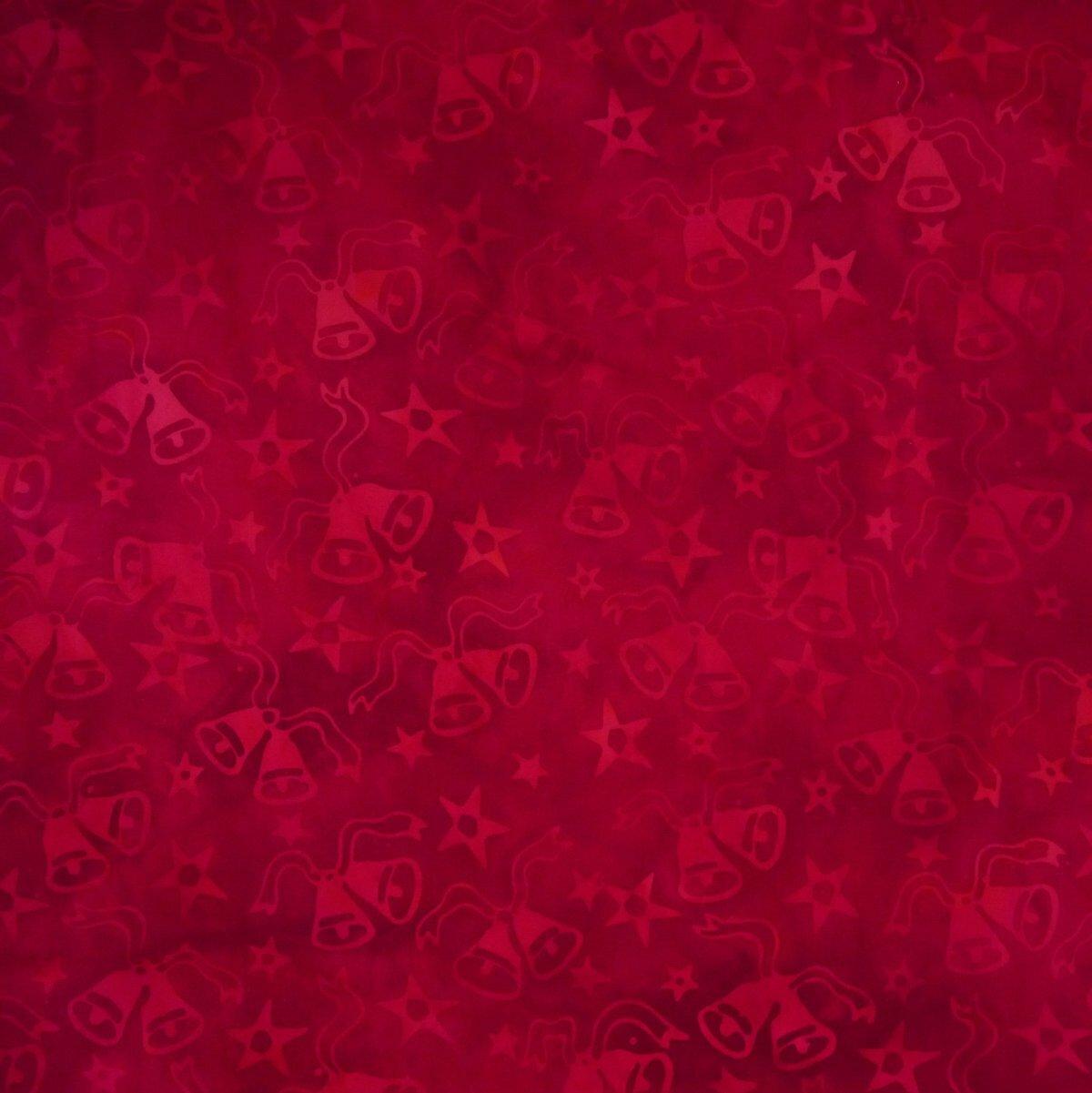 Shrub Red - Flicker Flair - Batik - 1/2m cut 56226